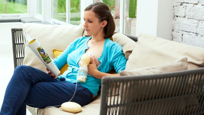 Swing single electric breast pump